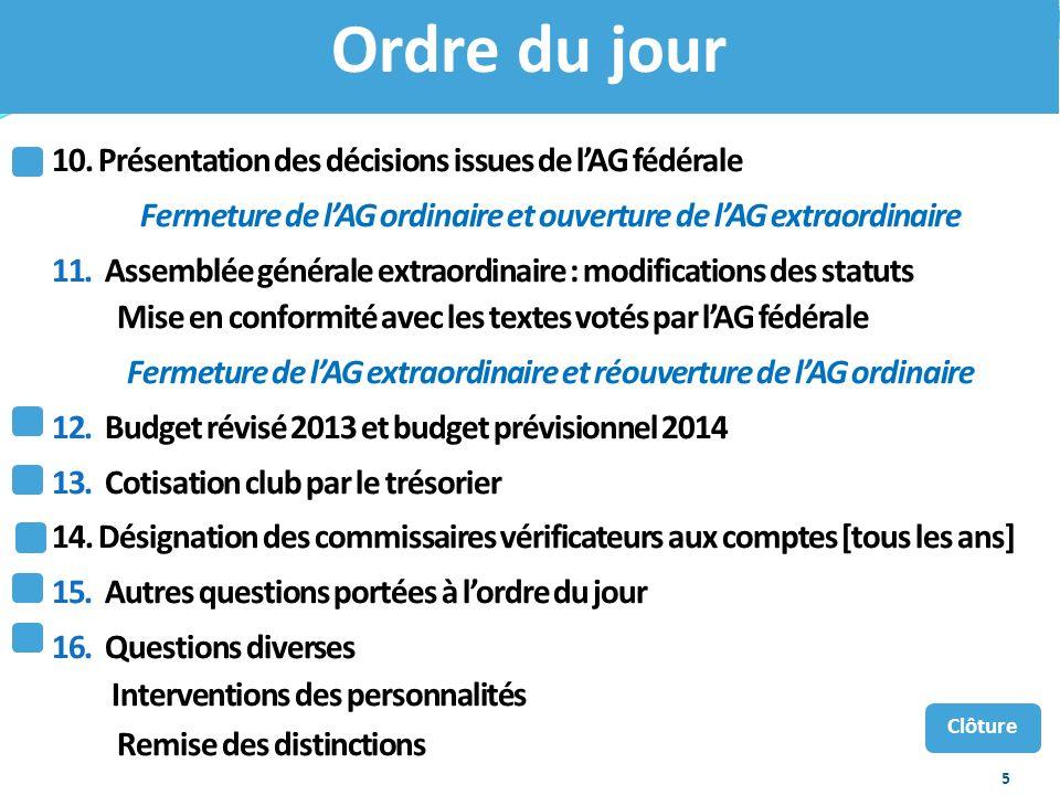 56 Championnat dEurope des clubs 21/22 décembre 2013 Pour info