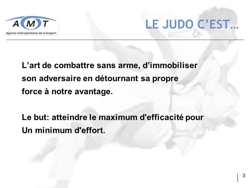 4 Le contexte Nord-Américain La théorie du judo Lapplication de la théorie et ses résultats LA PRÉSENTATION DU JUDO