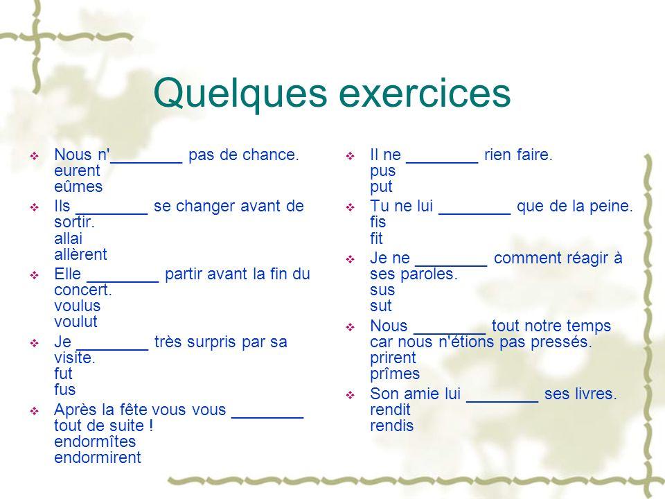 Devoirs Pour le mercredi 10 octobre Exercices de culture Exercices de grammaire Exercices de Jingbian Unité 3 et 4 Pour le lundi 15 octobre Composition