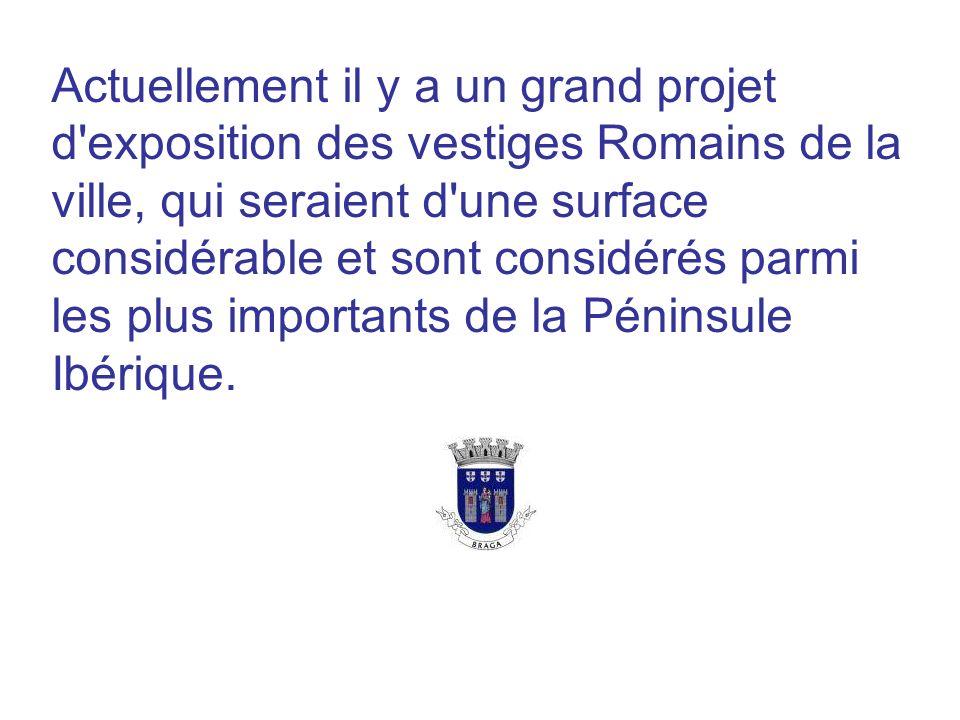 Actuellement il y a un grand projet d'exposition des vestiges Romains de la ville, qui seraient d'une surface considérable et sont considérés parmi le