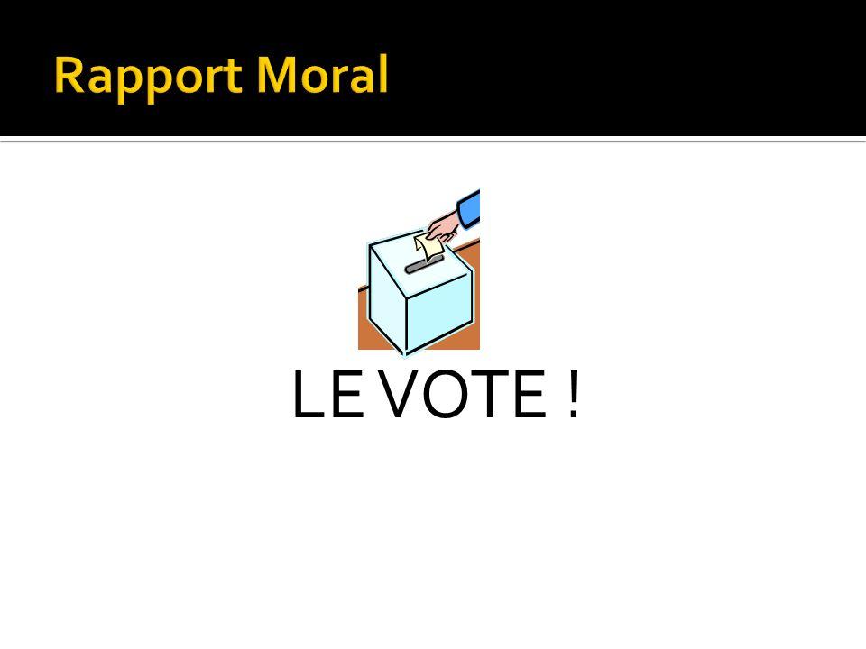 LE VOTE !