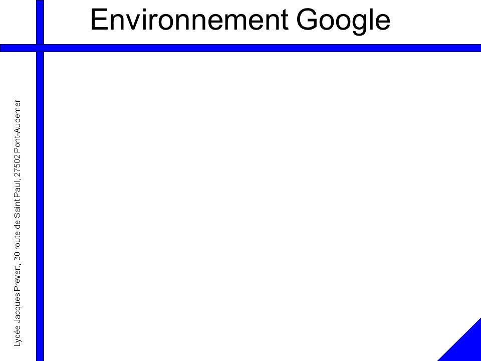 Lycée Jacques Prevert, 30 route de Saint Paul, 27502 Pont-Audemer Environnement Google