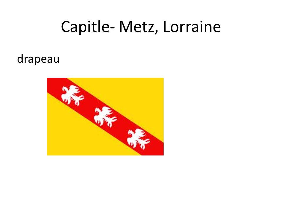 Capitle- Metz, Lorraine drapeau