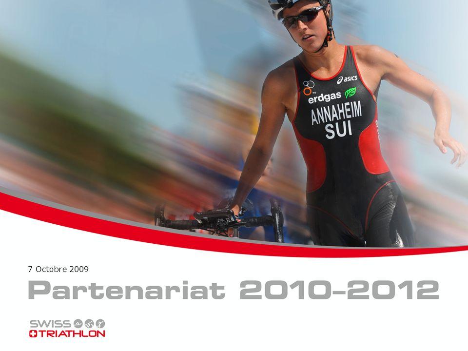 Triathlon & Swiss Triathlon Le triathlon a une image de sport jeune, dynamique et sain.