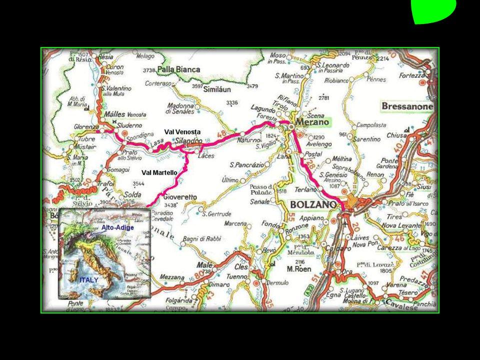 Merano en allemand Meran est une ville italienne denviron 38200 habitants