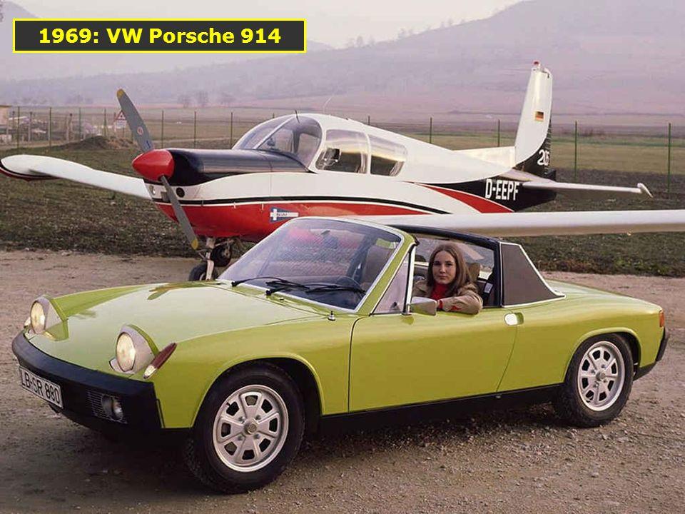1967: La première 911 Targa