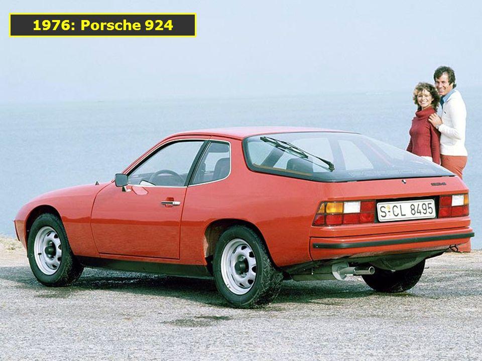 1974: Porsche 911 Turbo (Type 930) 2994 cm 3 260 ch