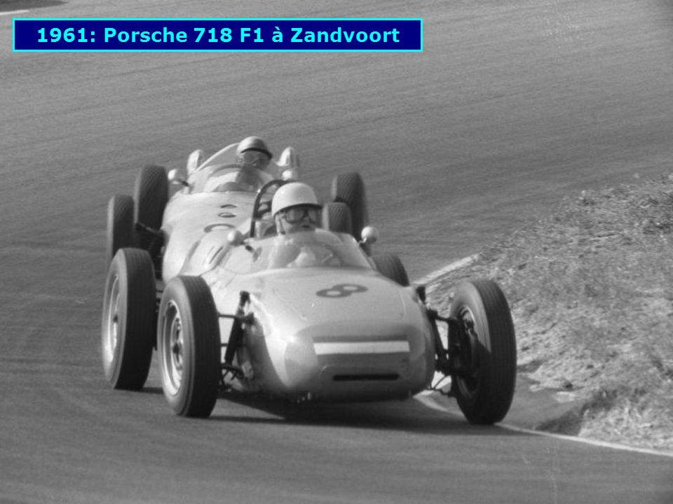 1488 cm 3 60 ch 1951: Porsche 356 Light Metal des 24H du Mans