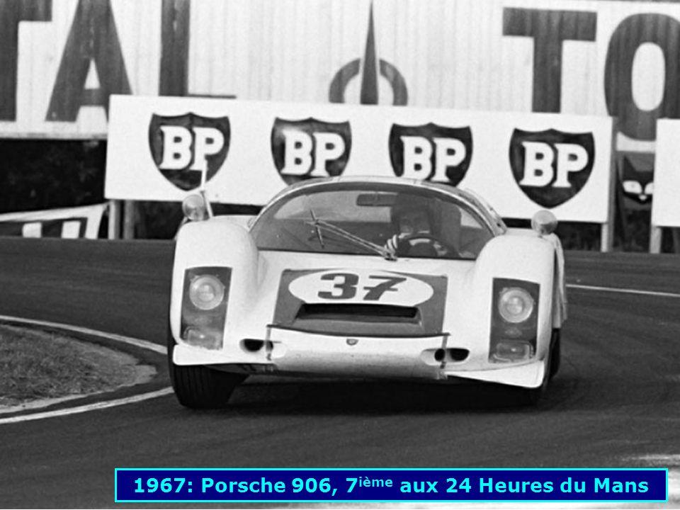 1962: Porsche 804 F1 1494 cm 3 185 ch
