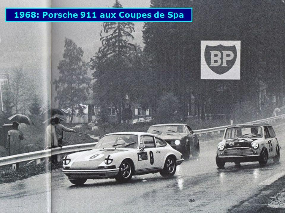 1967: Porsche 910, 6 ième aux 24 Heures du Mans