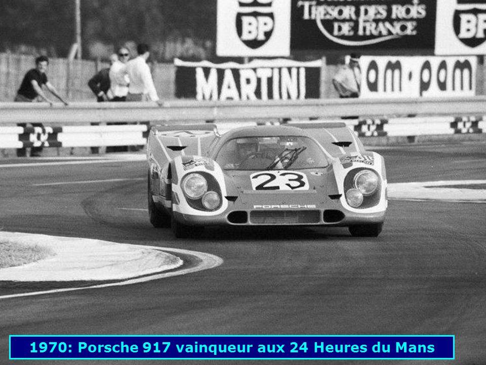 1969: Porsche 909 « Bergspyder »