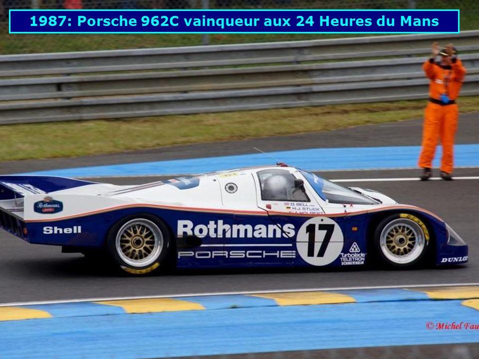 1987: Porsche 961 aux 24 Heures du Mans