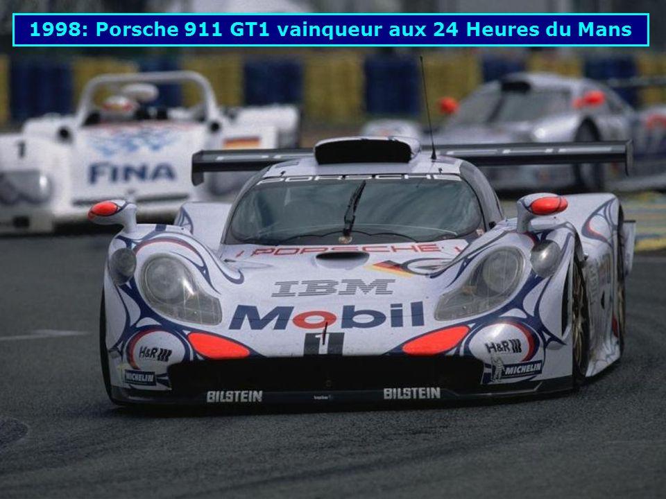 1997: Porsche WSC-95 vainqueur aux 24 Heures du Mans