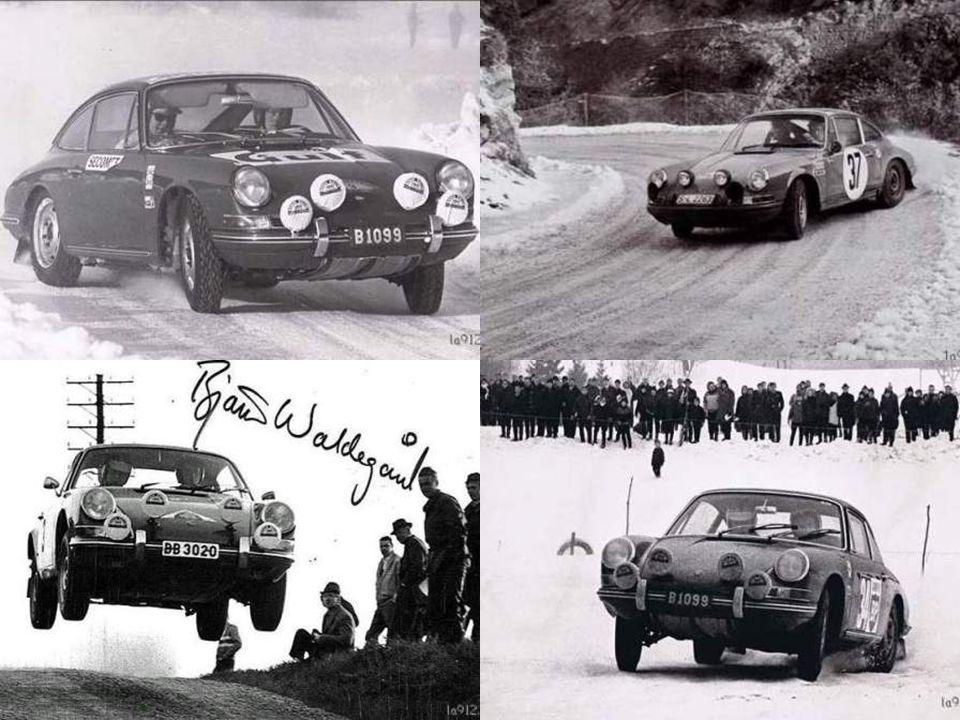 Les Porsche en rallye…