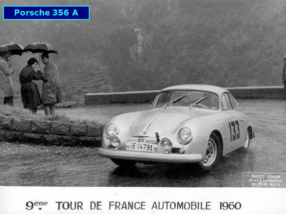 1952: Porsche 356 au Rallye des Alpes