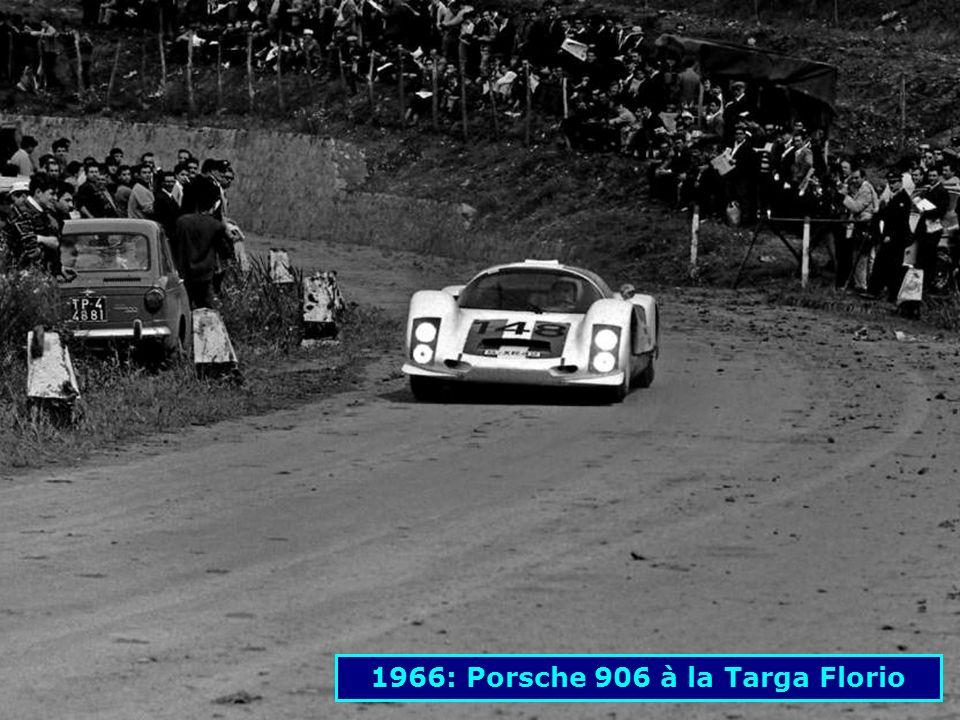 1963: Porsche 718 GTR au Nürburgring