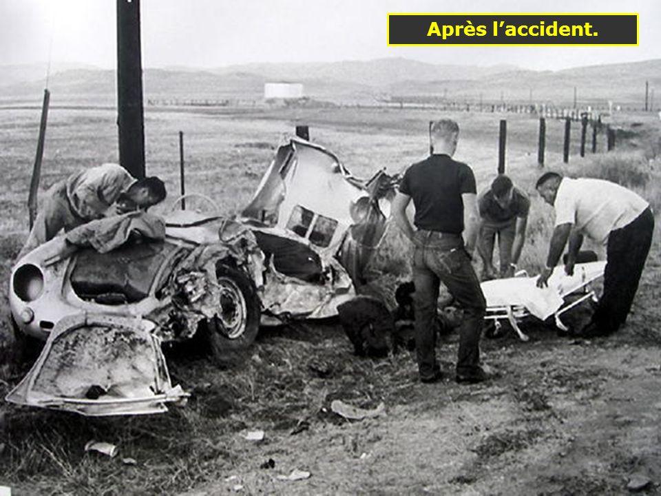 1955: La Porsche 550 Spyder qui a coûté la vie à James Dean 1498 cm 3 100 ch