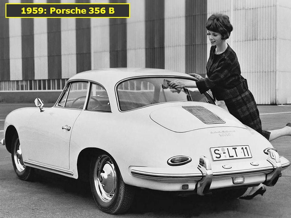 1956: Porsche 356 A