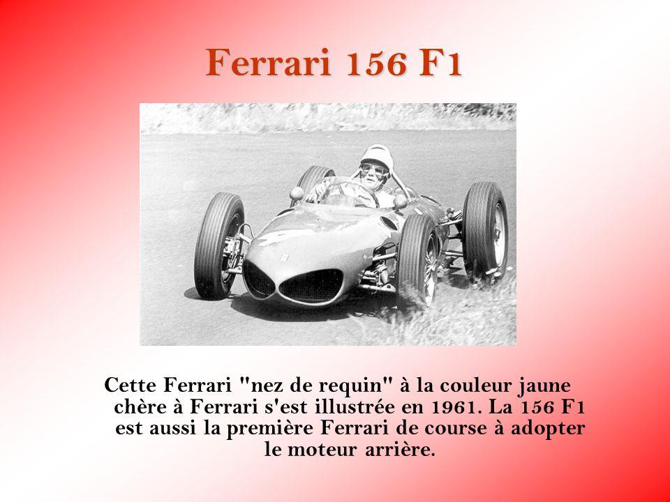 Ferrari 156 F1 Cette Ferrari