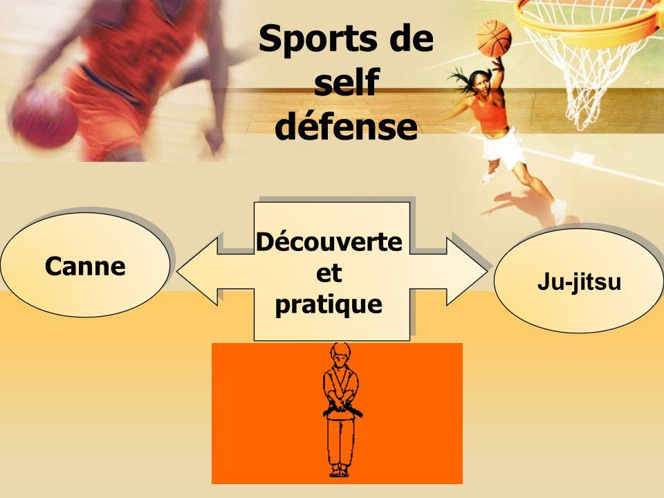 Sports de self défense Découverte et pratique Canne Ju-jitsu