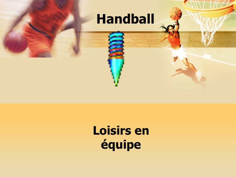 Entraînement le mercredi après-midi pendant 2h30 Entraînement le mercredi après-midi pendant 2h30 Tournois organisés une fois par mois Handball