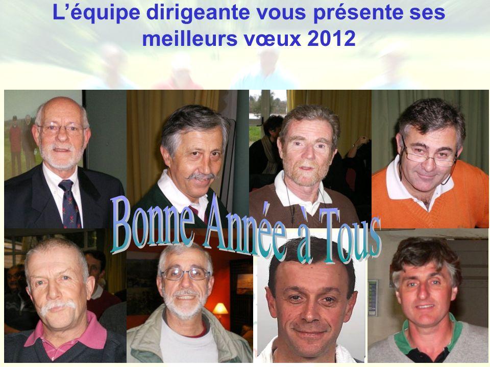 Ligue de Bretagne de Golf - Golf Entreprise Léquipe dirigeante vous présente ses meilleurs vœux 2012