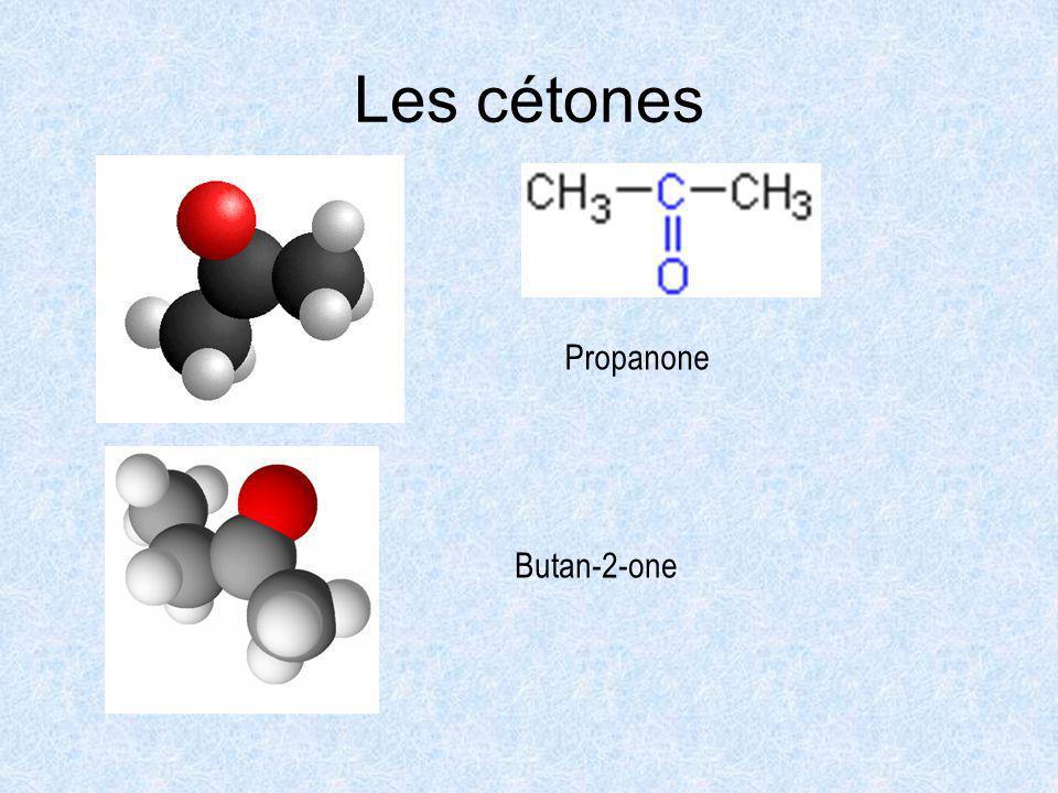 Les cétones Propanone Butan-2-one