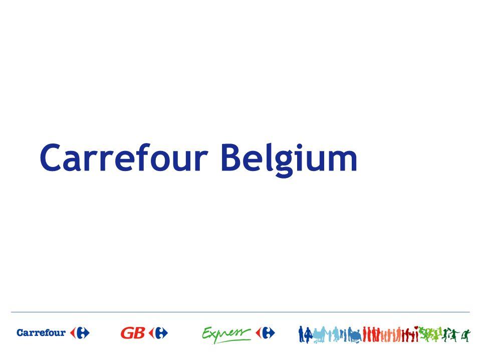 Faire de Carrefour Belgium une entreprise durablement en croissance et rentable pour le Groupe Carrefour, proche de ses clients avec des collaborateurs et des partenaires fiers et impliqués.