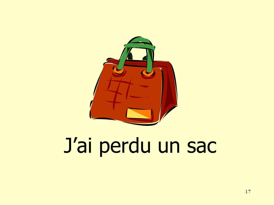 16 Jai perdu une valise