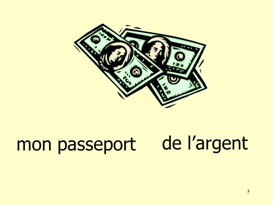 5 mon passeport