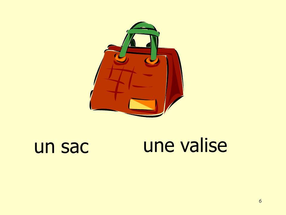 6 un sac une valise