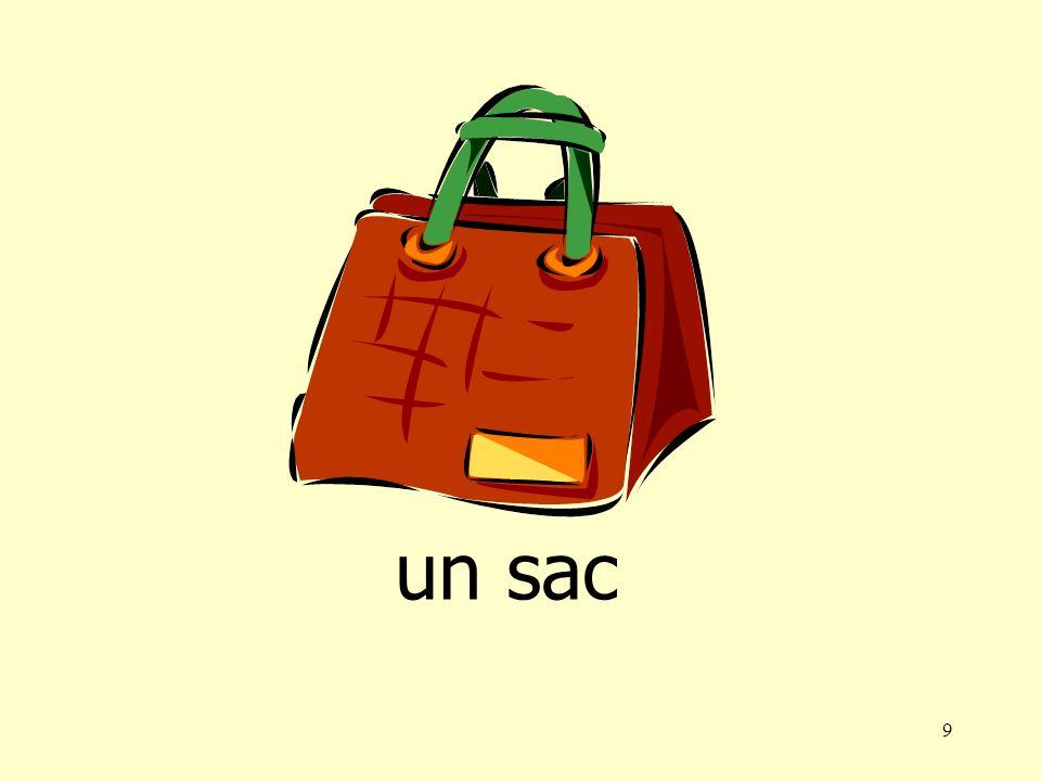 9 un sac