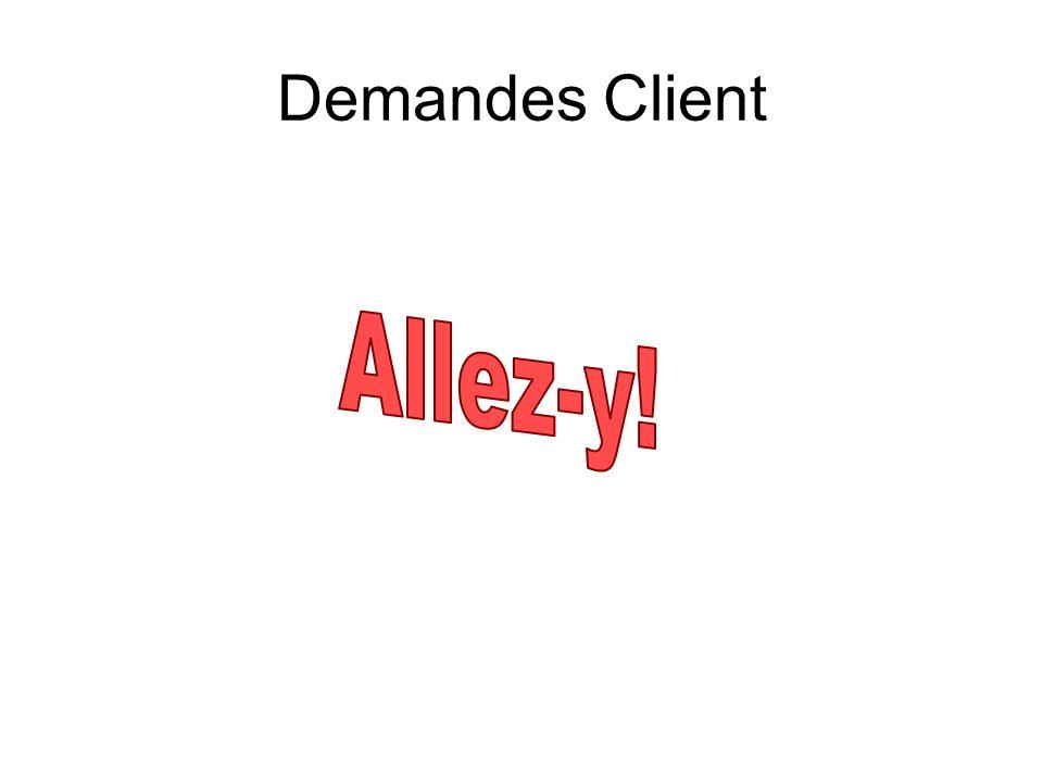Demandes Client