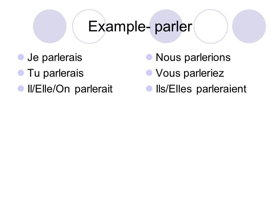Irregulars that you already know Être ser- Avoir aur- Aller ir- Faire fer-