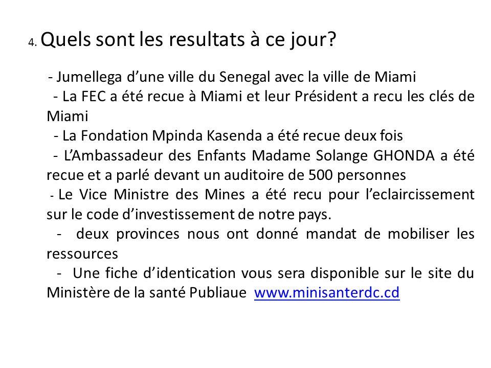 Prestation et Expertise de la Congolaise Americaine Chambre de Commerce: - Prediagnostic La durée est de 4 a 6 semaines avec les benéficiaires public et/ou privés.