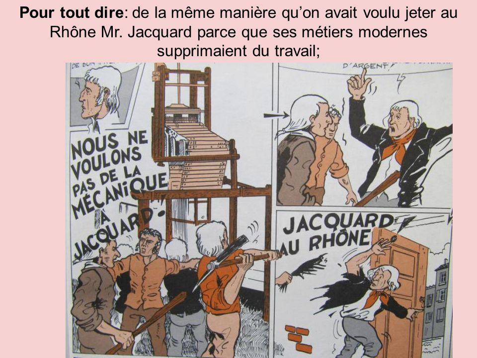 Causes probables dans le contexte de crise de la soie: Rappelons-nous: 1- En 1841 « Monsieur Coindre signifia au Frère Xavier de se retirer » des lieux ; à regret il dut « congédier les enfants.