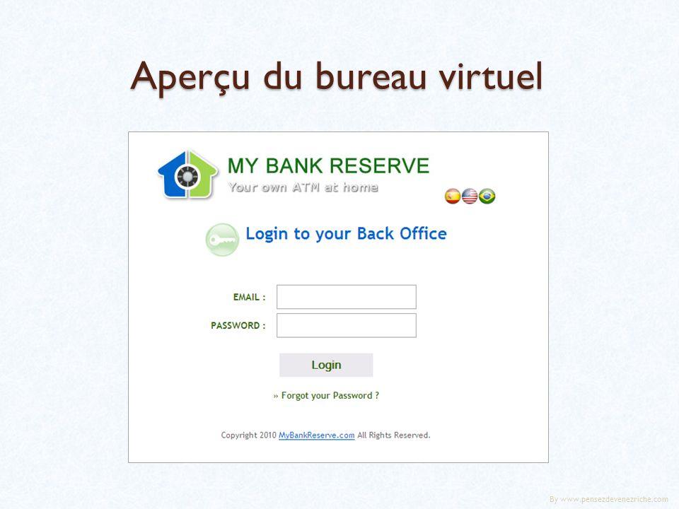 Aperçu du bureau virtuel By www.pensezdevenezriche.com
