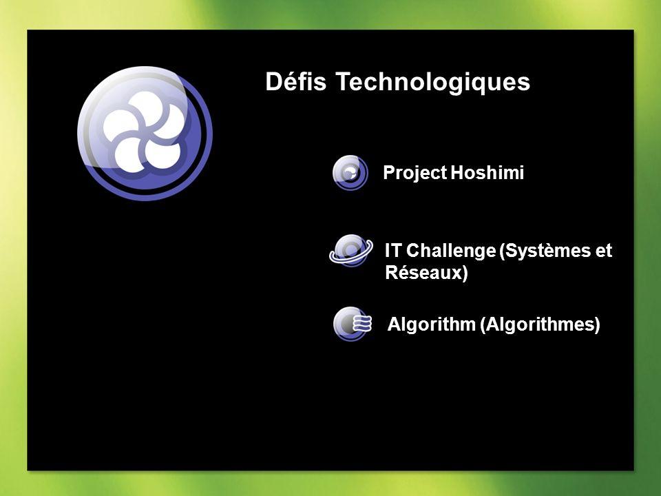 Défis Technologiques Project Hoshimi IT Challenge (Systèmes et Réseaux) Algorithm (Algorithmes)