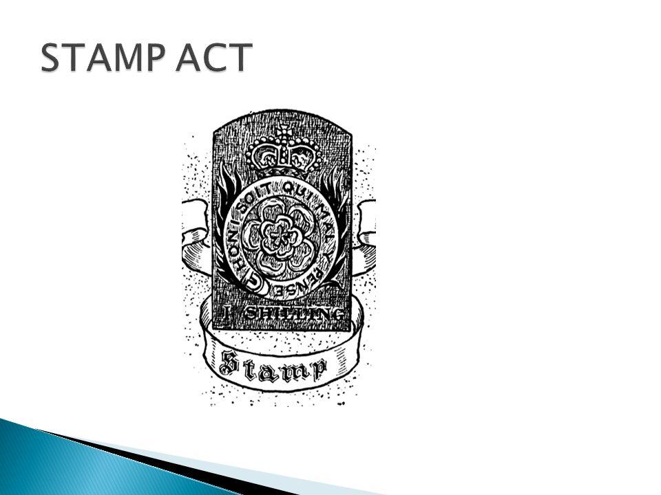 ACT= LOI Après la guerre, la Grande Bretagne avait besoin dargent pour payer ses dettes et pour son armée.