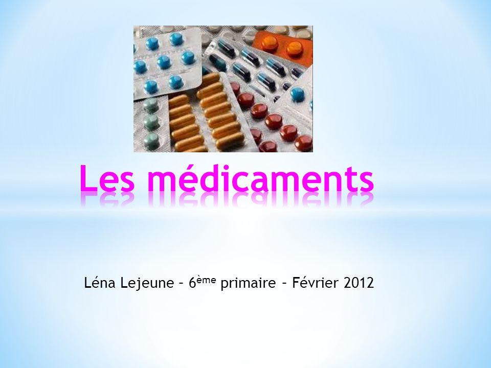 Léna Lejeune – 6 ème primaire – Février 2012