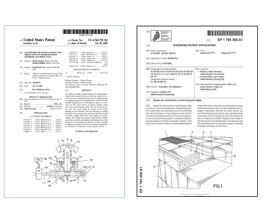 La classification internationale des brevets http://www.wipo.int/classifications/fulltext/new_ipc/ipcen.html
