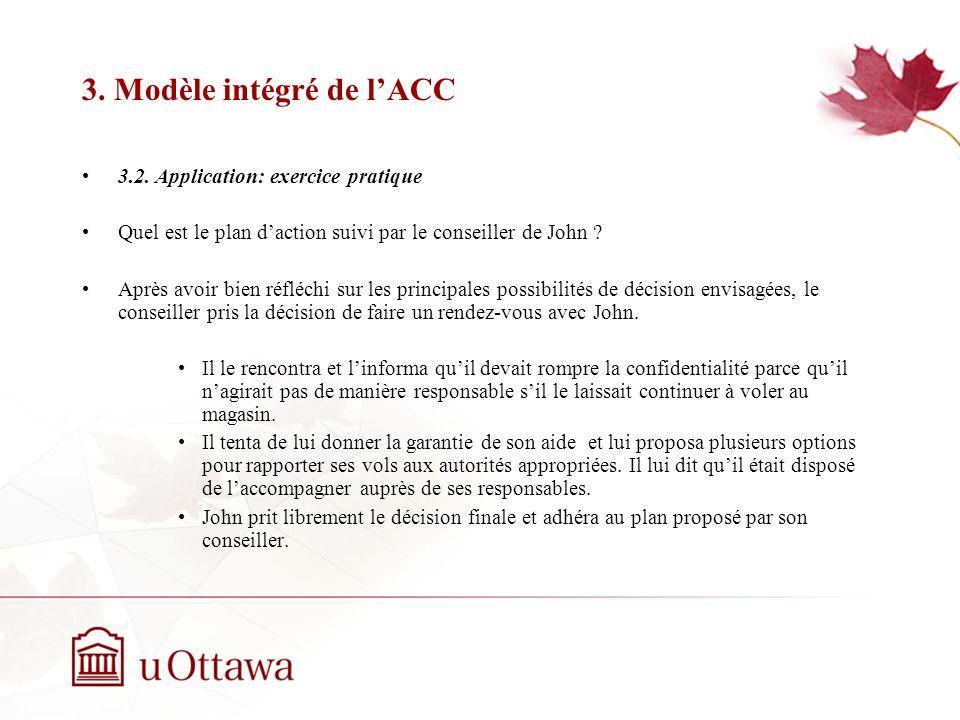 3.Modèle intégré de lACC 3.2.