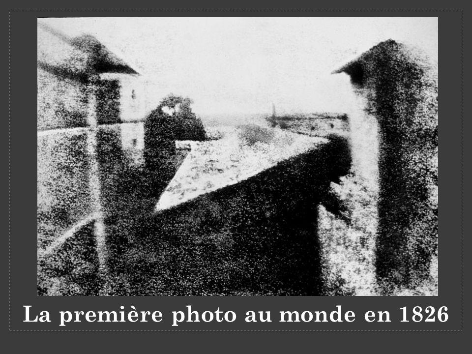 La première photo au monde en 1826