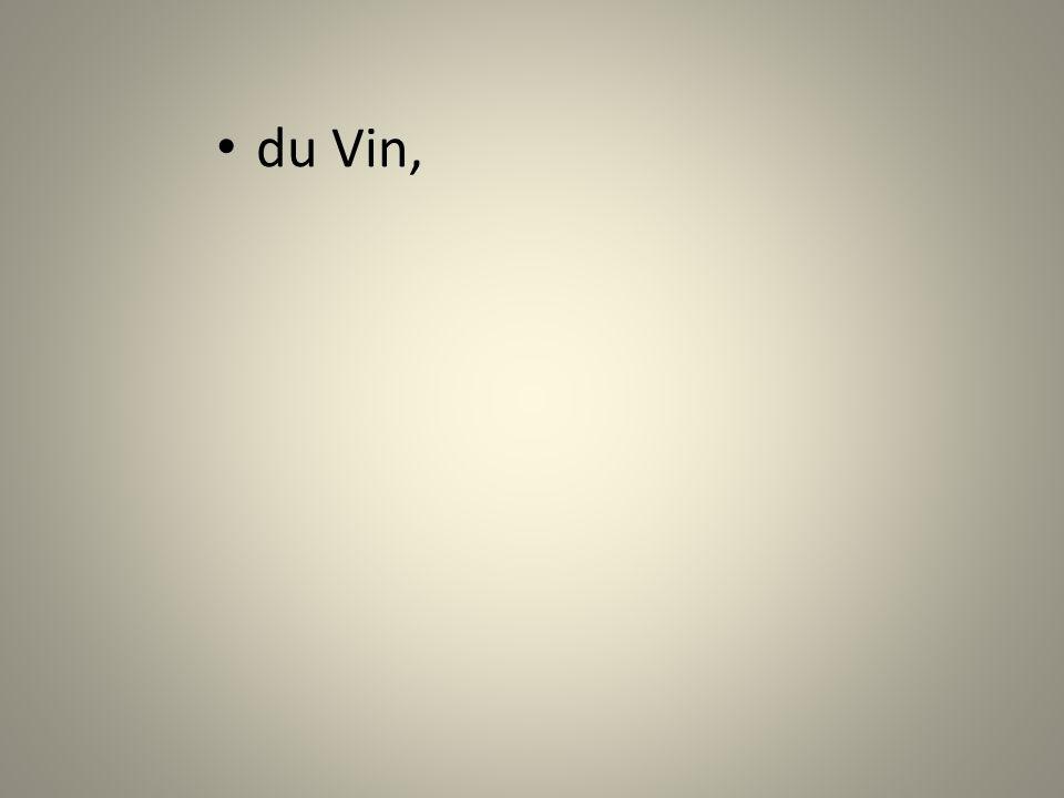 du Vin,