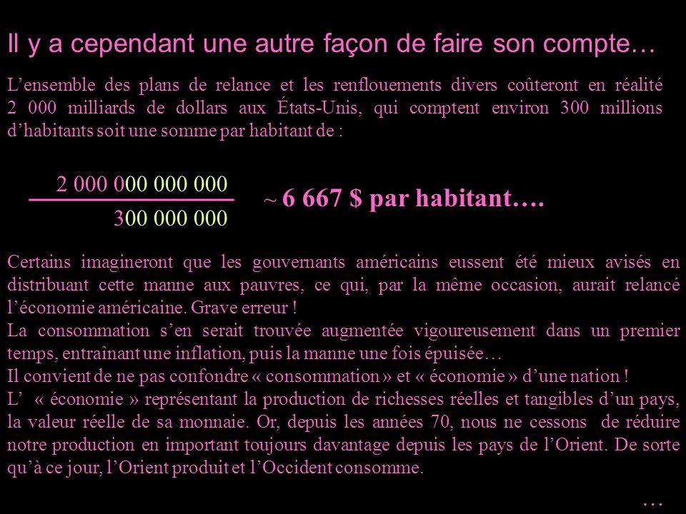 Un milliard = mille millions (10 9 ), soit un 1 suivi de 9 zéros.