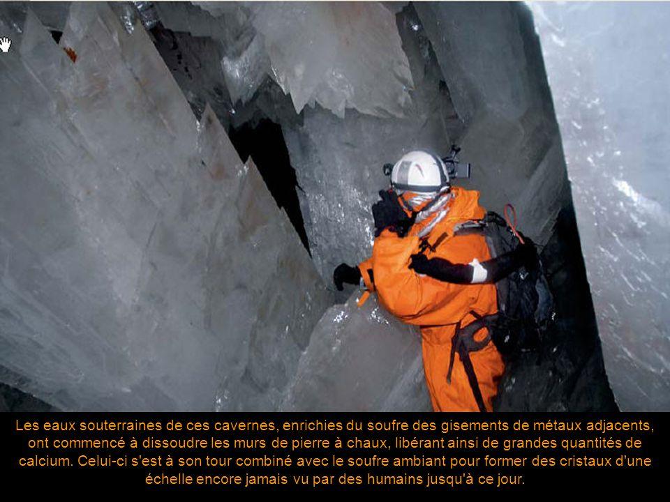 Ces vieux massifs de pierre à chaux de 200 millions d'années sont constituées de réseaux très profonds de cavernes croisés par des eaux thermiques cha