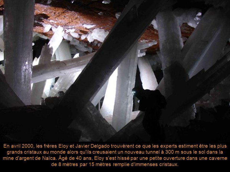 La mine de Naïca de Chihuahua, Mexique, est une mine opérationnelle reconnue pour ses cristaux extraordinaires. Naïca est une mine de plomb, de zinc e