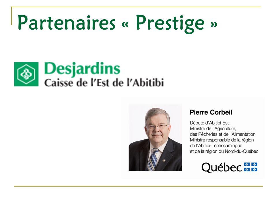 Partenaires « Prestige »
