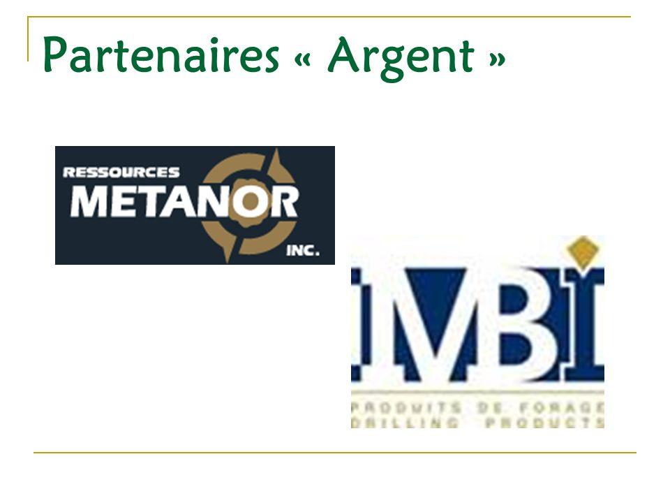 Partenaires « Argent »