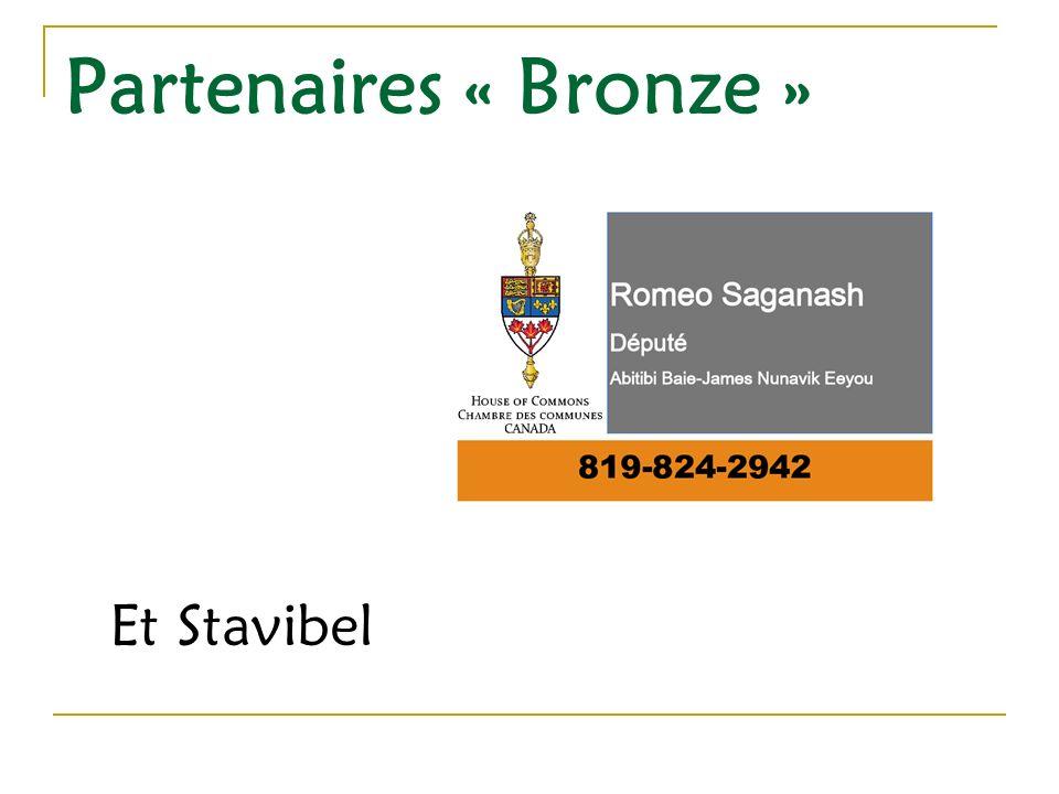 Partenaires « Bronze » Et Stavibel